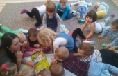 Cała Polska czyta dzieciom - wiersze J. Tuwima i J. Brzechwy gr. 1c