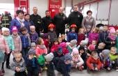 Wizyta w Straży Pożarnej gr II b
