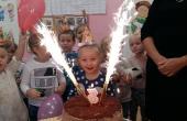 Tak świętowaliśmy w grupie Ia urodziny Natalki